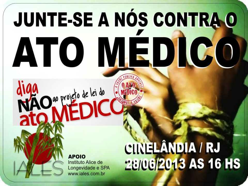 Manifestacao - Ato Medico